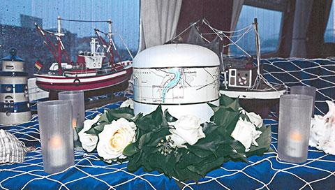 Urne für die Seebestattung